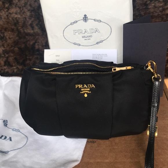 8af647e5fe34 Prada Bags | Contenitor Tessuto Nero Brand New | Poshmark